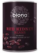 Fasole rosie boabe conserva bio 400g Biona