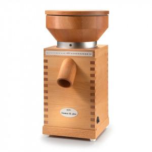 Moara pentru macinat cereale KoMo Fidibus XL Plus, 600 W, Pietre de moara, 200 g/min, Carcasa lemn de fag
