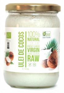 Ulei de cocos virgin organic presat la rece 450G- Produs recomandat de Ligia Pop