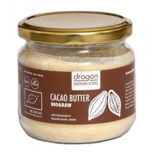 Unt de cacao raw bio 300g - varietate Criollo, Ecuador