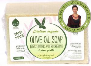 Biolu sapun ecologic cu ulei de masline 140g