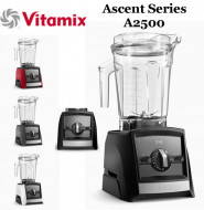 Blender Vitamix A2500i Ascent, 1200 W, 2l, Self-Detect Technology, 3 programe prestabilite, conectare wireless, timer digital