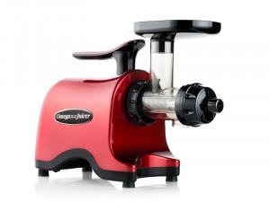 Omega Twin Gear Juicer (rosu) TWN30R- storcator prin presare la rece cu 2 axe melcate