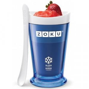 Pahar Zoku ZK113-BL pentru preparare Slush sau Shake, Albastru