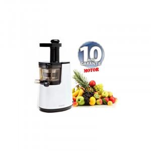 Storcator Hurom Slow Juicer HH-WBE06,10Ani Garantie, Putere 150W, Alb, 70 Rotatii pe minut- Produs Original
