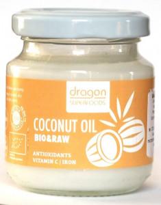Ulei de cocos virgin bio presat la rece Dragon Superfoods 100ml