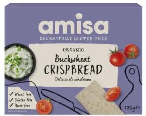 Crispbread (Painici) Din Hrisca Integrala Fara Gluten Bio 120g