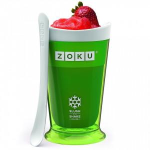Pahar Zoku ZK113-GN pentru preparare Slush sau Shake, Verde