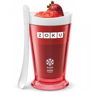 Pahar Zoku ZK113-RD pentru preparare Slush sau Shake, Rosu