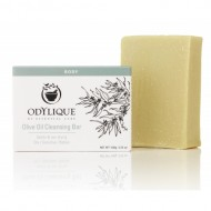 Sapun solid organic hidratant, cu ulei de masline pur, pentru piele sensibila Odylique by Essential Care 100g