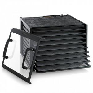 Deshidrator Excalibur 9 tavi, timer, termostat (negru) 4926TBCD cu usa transparenta