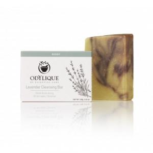 Sapun solid organic calmant cu lavanda, pt. pielea iritata, Odylique by Essential Care 100g