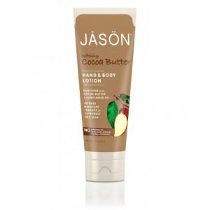 Crema organica hidratanta cu unt de cacao pt maini si corp, 227g, Jason