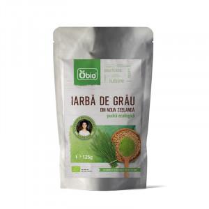 Iarba de Grau Pulbere Organica 125g