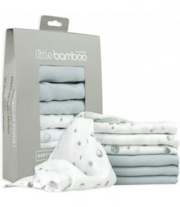 """Muselina din bambus organic """"Baby Wash"""" Little Bamboo - 6 buc (30*30 cm)"""
