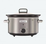 Slow cooker Crock Pot 3.5L Stainless Steel CSC028X-DIM