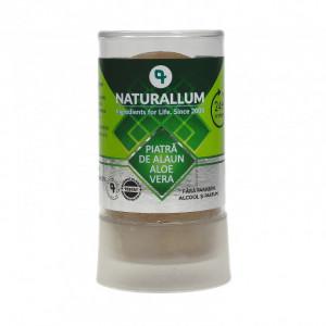 Deodorant piatra de alaun cu Aloe Vera, Naturallum 120g