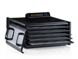 Excalibur 5 tavi si timer (negru) cu controler digital- 3548CDB