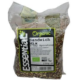 Mix seminte pentru germinare in 6 zile bio Essential 250g