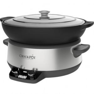 Aparat de gatit Crock Pot slow cooker 6 L, Digital DuraCeramic Sauté