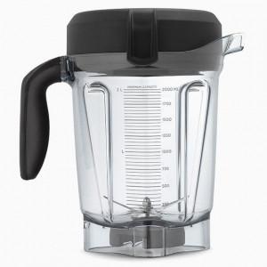 Bol de mixare 2 l Vitamix, pentru blenderele A2300i, A2500i si A3500i, Tritan, Fara BPA