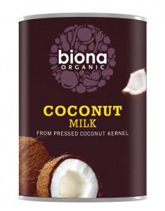 Lapte de cocos bio Biona, 400ml