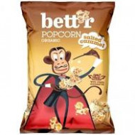 Popcorn caramel sarat bio 60g Bettr