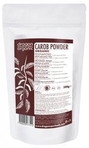 Pudra de carob (roscove) bio Dragon Superfoods 200g