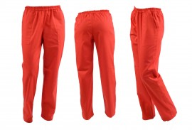 Poze Pantaloni Unisex Rosii