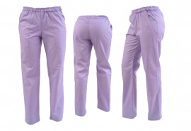 Pantaloni unisex lila