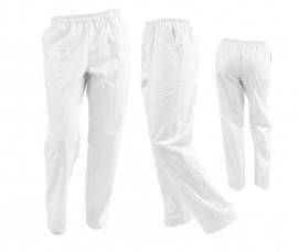 Poze Pantaloni Unisex Albi