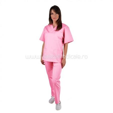 Costum unisex roz