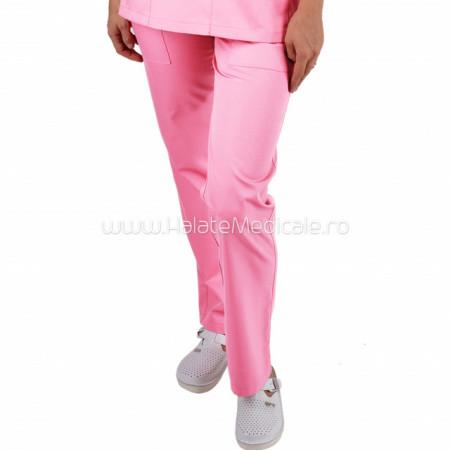 Pantaloni unisex roz