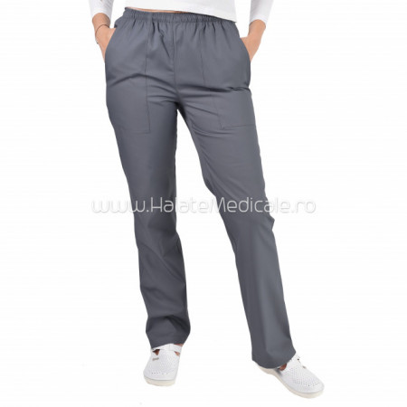 Pantaloni unisex gri