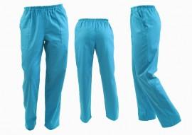 Poze Pantaloni Unisex Turquoise
