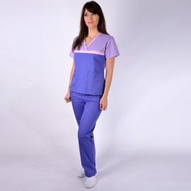 Bluza medicala ColorMIX lila / mov