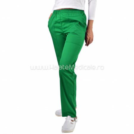 Pantaloni unisex verzi