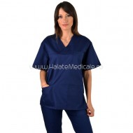 Bluza medicala unisex bleumarin