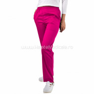 Pantaloni unisex ciclam