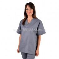 Bluza medicala unisex gri
