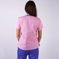 Bluza medicala ColorMIX roz / lila