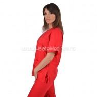 Costum unisex rosu