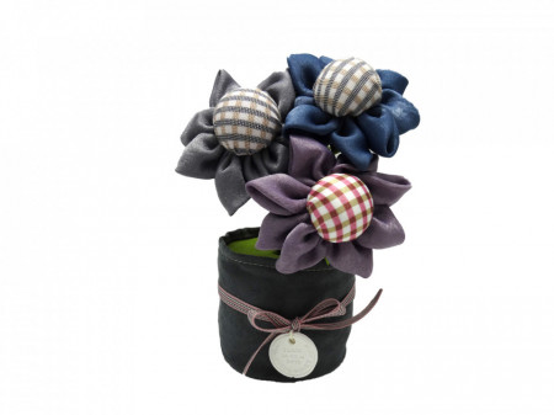 Flori textile parfumate cu carbune activ bambus, Aroma Land, Odorizare & Decor
