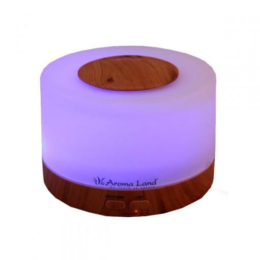 Pachet Aroma Difuzor Oslo + 3 uleiuri hidrosolubile de aromaterapie