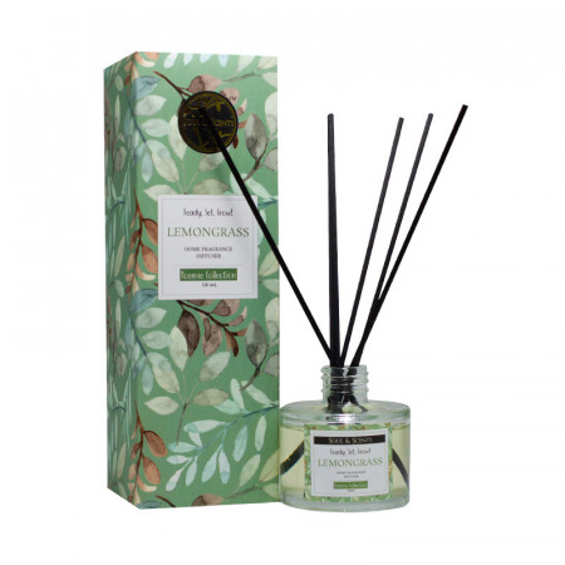 Reed diffuser Lemongrass, S&S India, 125 ml