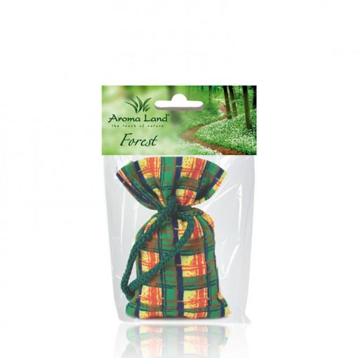 Saculet parfumat Forest, Aroma Land, 30g