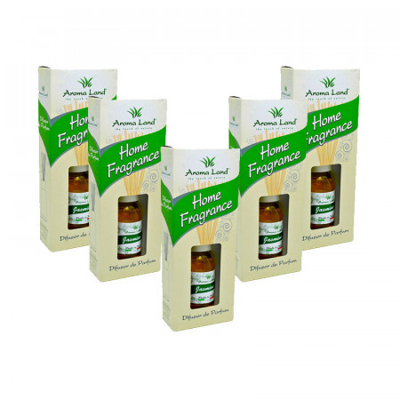 Set 5 Reed Diffuser Iasomie, Aroma Land, 125 ml