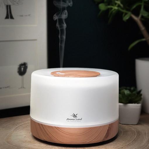 Aroma Difuzor Oslo, pentru aromaterapie si relaxare. Purifica aerul, parfumeaza și lumineaza.