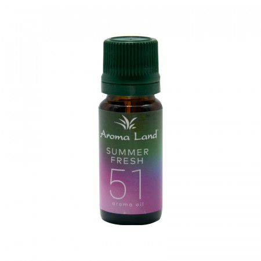 Pachet 20 uleiuri aromaterapie Summer Fresh, Aroma Land, 10 ml