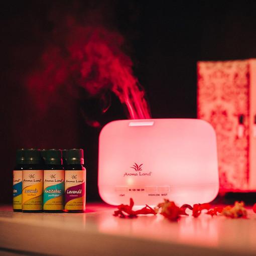 Pachet Aroma Difuzor Relax + 5 uleiuri volatile
